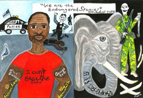 Endangered Species Interview with Rodney Flyod Brother of George Floyd