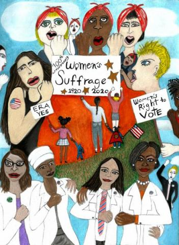 100th year Anniversary Women's Suffrage and the ERA