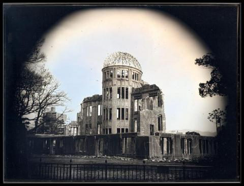 The Atomic Bomb Dome, Hiroshima, Courtesy of Galerie Camera Obscura