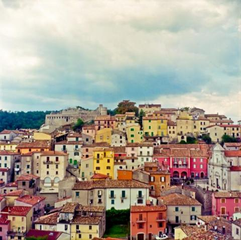 View of Miranda, Italy