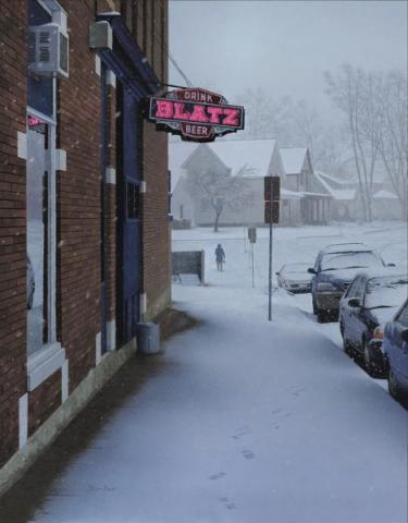 Tavern Snowstorm
