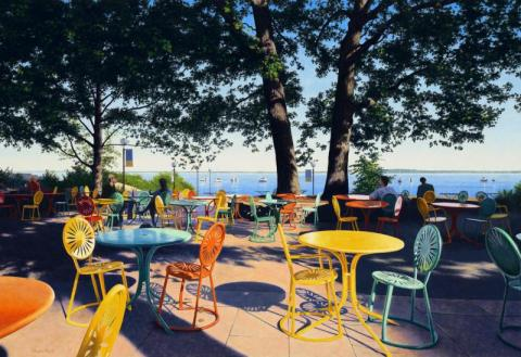 Summer at the Union Terrace