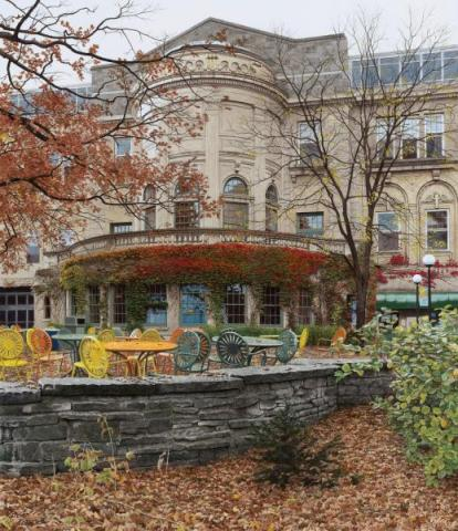 Autumn at the Union Terrace
