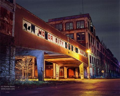 Alleys & Ruins no. 136, Motor City (Detroit, MI, 9:30pm)
